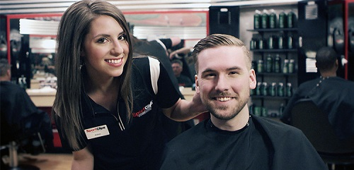 Sport Clips Haircuts of Greater Morristown​ stylist hair cut
